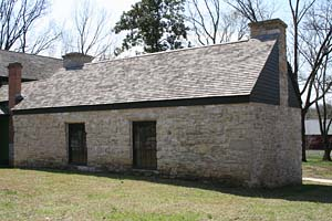 The restored stone building at Ulysses S. Grant NHS.