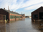Flooding of the North Maintenance Area at Sandy Hook