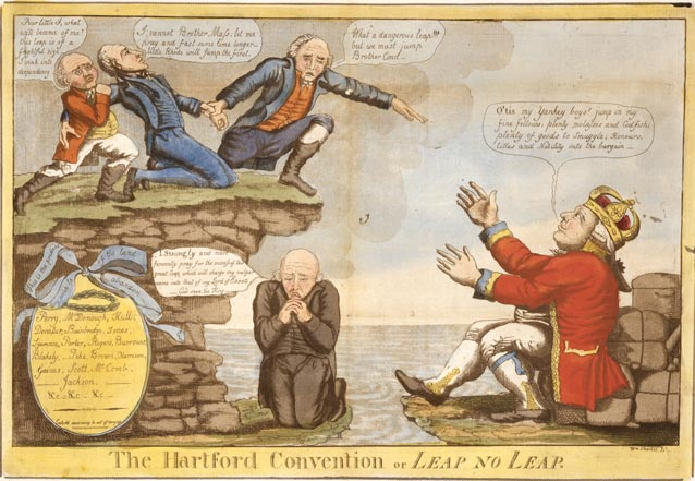 federalists and the war of 1812 But not all americans supported the war in 1814, new england federalists met in hartford, connecticut, to try to end the war.