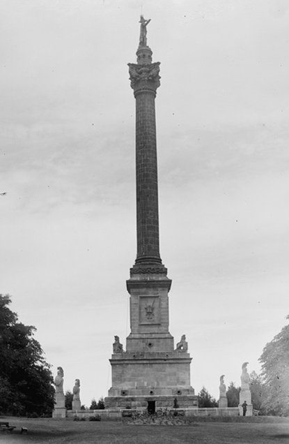 Monument to Isaac Brock at Queenston Heights