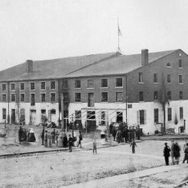Photograph of Libby Prison