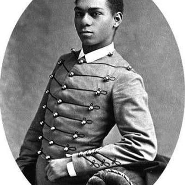 Photo of Henry Flipper in his U.S. Military Academy cadet's uniform