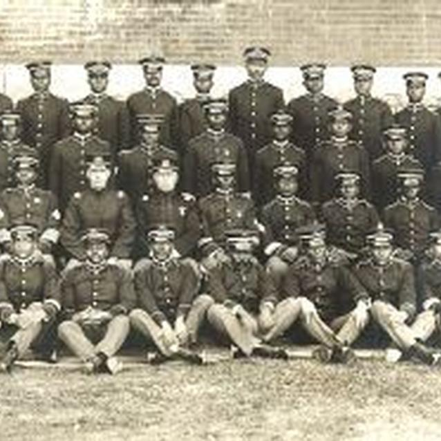 Photo of Company I of the 24th U.S. Infantry, c. 1900