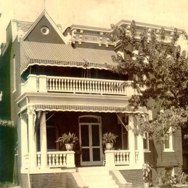 Photo of Maggie L. Walker's Richmond home, c. 1923.