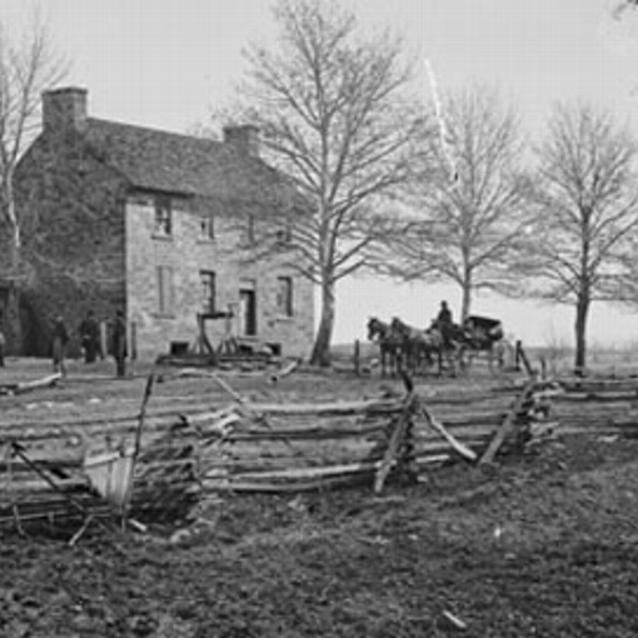 Photograph of the Stone House at Manassas
