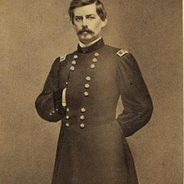 Photograph of General George McClellan