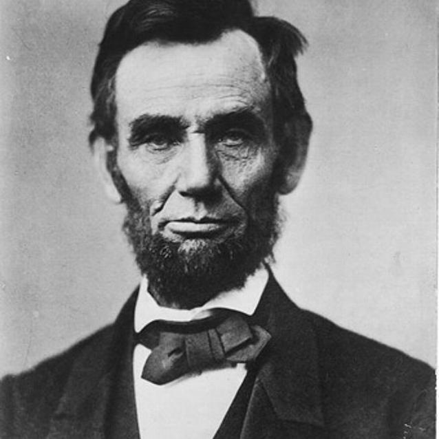 Photograph of President Lincoln