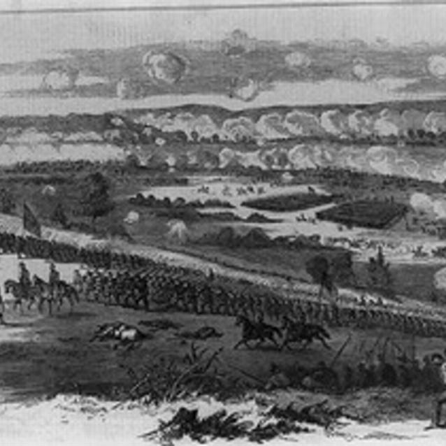 Sketch of the second day of Second Manassas