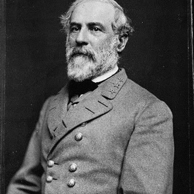 Photograph of Confederate General Robert E. Lee