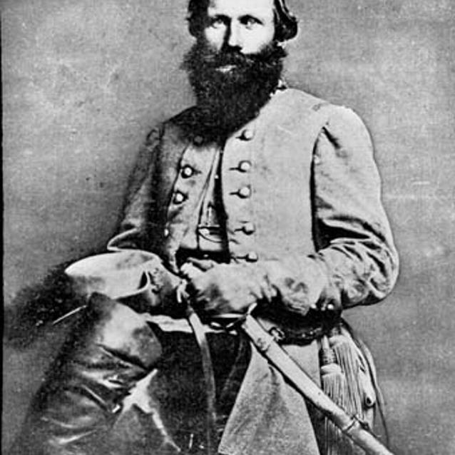 Photograph of Confederate Jeb Stuart