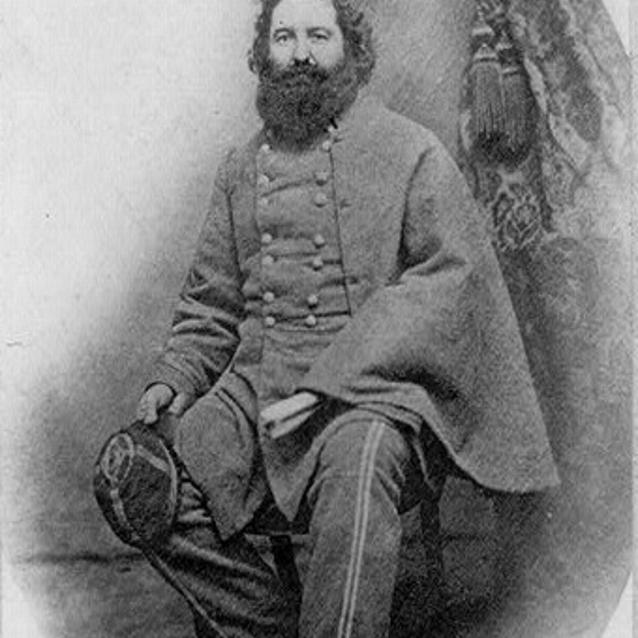 Photograph of Confederate General L. McLaws