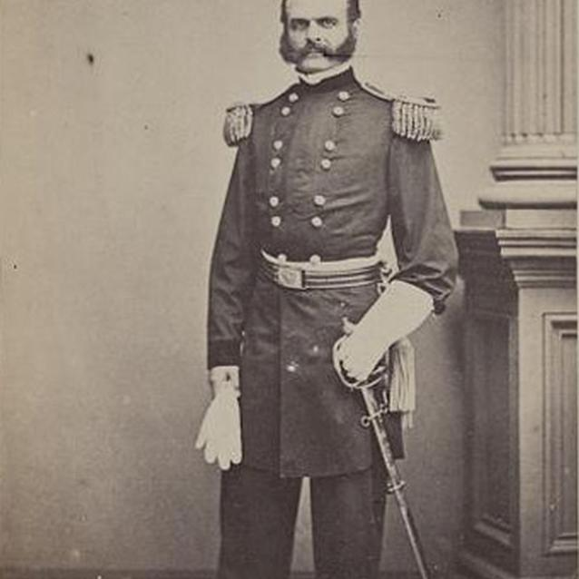 Photograph of General Burnside