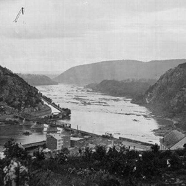 Photograph of Maryland Heights: Harpers Ferry