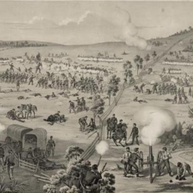 Print of the Battle of South Mountain