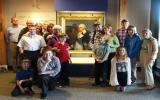 Donors and descendants of Peter Gansevoort and artist Cuyler Ten Eyck.