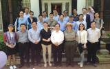 Business leaders and city officials from Zhoushan and Taizhou of China's Zhejiang province visit Governors Island.