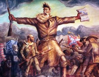 Painting of John Brown; courtesy Kansas State Historical Society