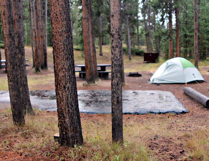 Madison Campground - Yellowstone National Park (U S