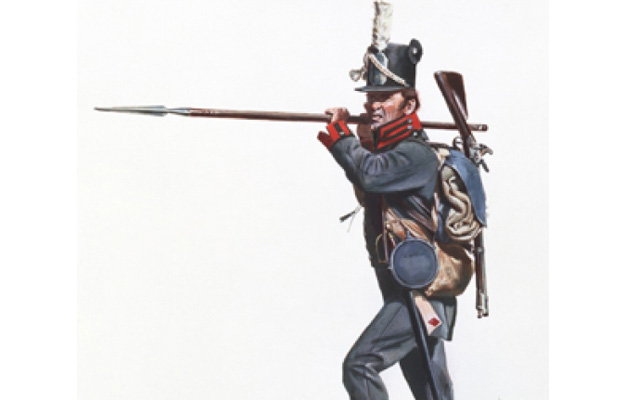 United States Infantry private of the 15th Regiment 1812-1813.