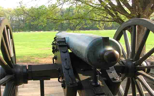Cannons at Cheatham Hill