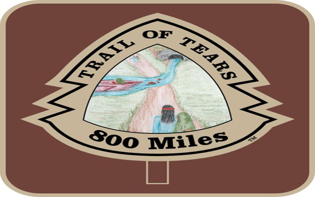 Trail of Tears 800 Miles Insignia