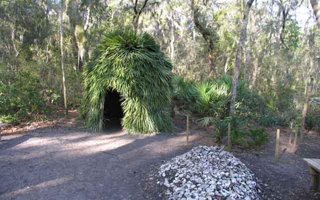 timucua village sketch timucuan ecological historic preserve