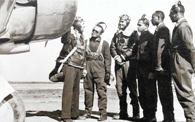 First Graduating Class of Tuskegee Military Pilots