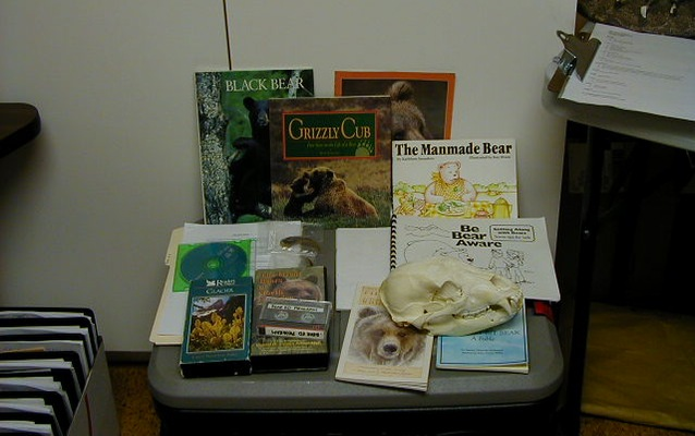bear trunk contents