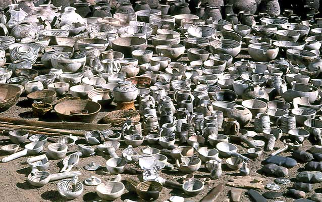 Collection of pottery and other artifacts from the Wetherill Mesa Project, 1958 to 1962