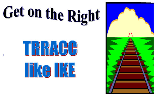 Get on the Right Trracc Like Ike