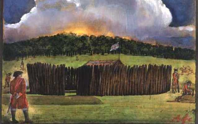 George Washington at Fort Necessity