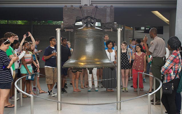 Make Venn Diagram: The Liberty Bell as a Modern Symbol grades 6-9 - Independence ,Chart