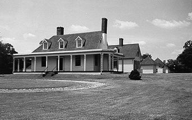Appomattox Manor City Point Hopewell Virginia