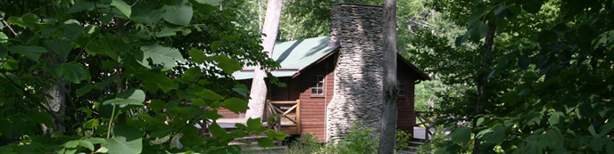 Herbert Hoover's rustic alternative to The White House.