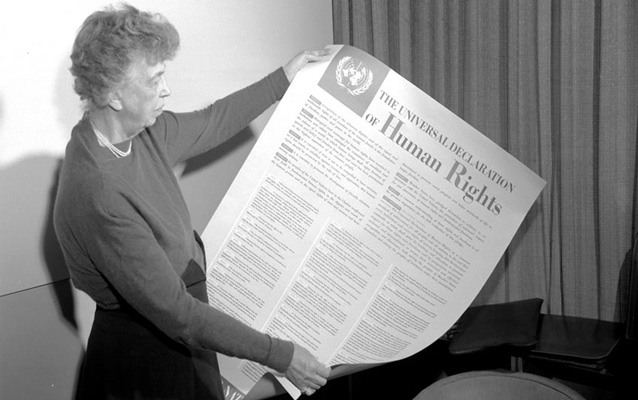 Eleanor Roosevelt and the Universal Declaration of Human Rights 1949