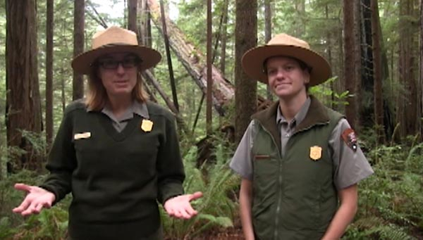 Two park rangers talk about adaptations.