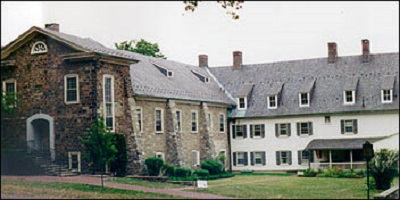 Moravian chapel buildings in Bethlehem, Pennsylvania