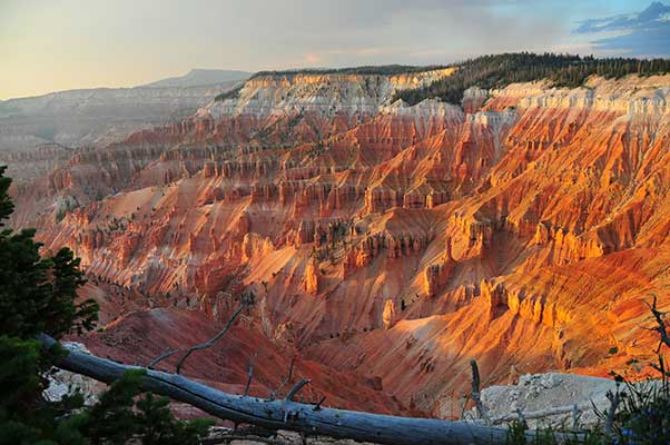 Geology Shaping Landscapes Over Time Space Teachers U S