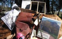 The traveling trunks help students  gain a better understanding of the people living in the Santa Monica Mountains Area