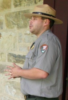 Park Ranger at Friendship Hill