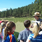 Explore the two worlds of Wind Cave National Park with your students