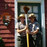 Park rangers are great guest speakers!