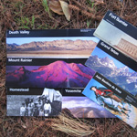 Park brochures help us learn about other parks