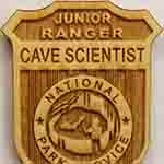 Junior Cave Scientist badge
