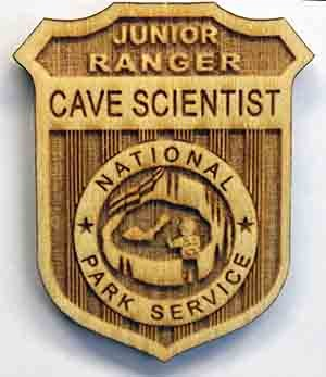 Jr Cave Scientist Badge