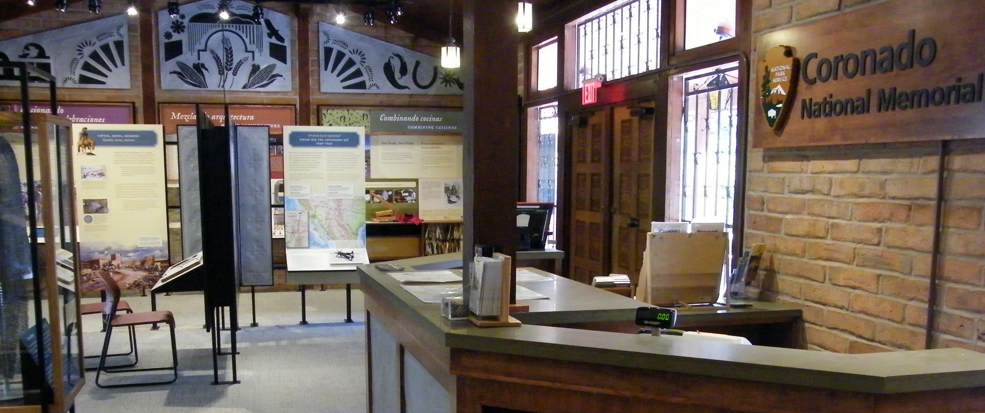 New 2016 Visitor Center Exhibits