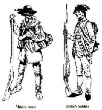 American and British soldiers