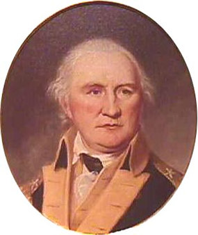 Daniel Morgan by Charles Willson Peale, courtesy of Independence National Historical Park