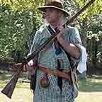 Reenactor with a rifle