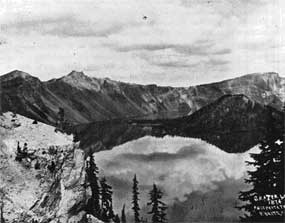 Peter Britt - 1st Photo of Crater Lake